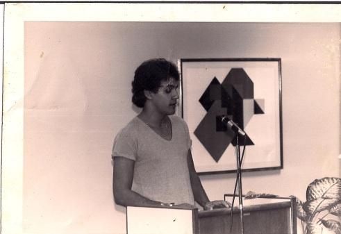 Una lectura, 1980