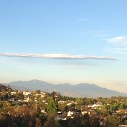 La ciudad vista desde la colina del la Universidad Estatal