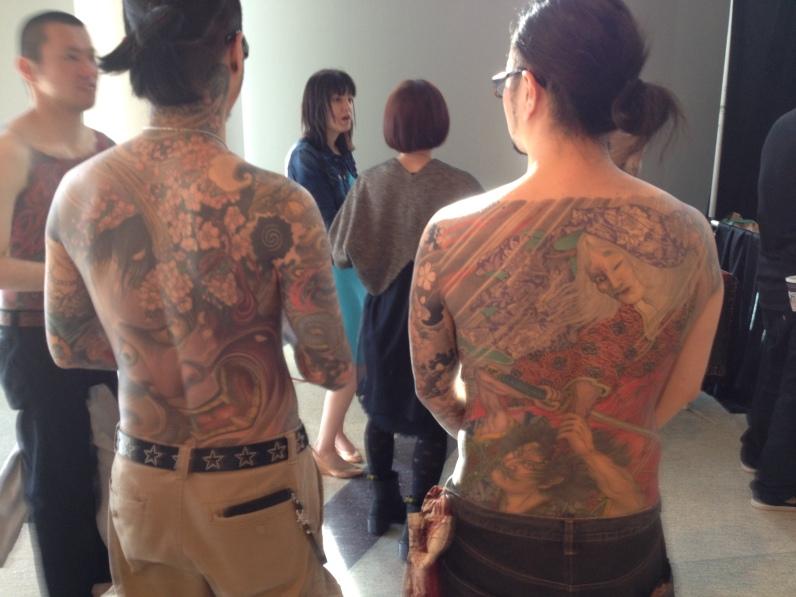 Exposición de Tatuajes Japoneses, en Little Tokio