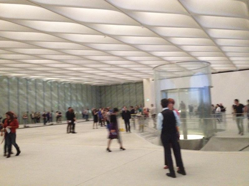 Museo Broad, antes de abrir