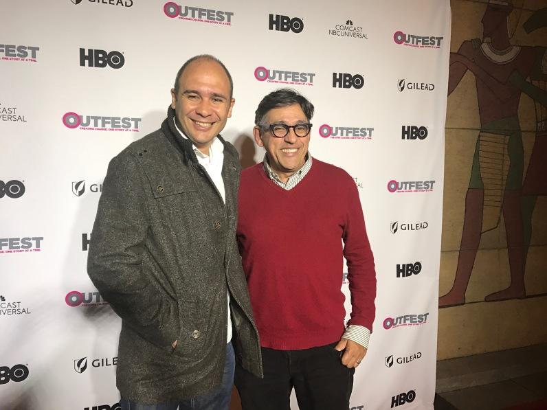 Estreno de 'Santa y Andrés' en The Egyptian, o Cinemateca de Hollywood