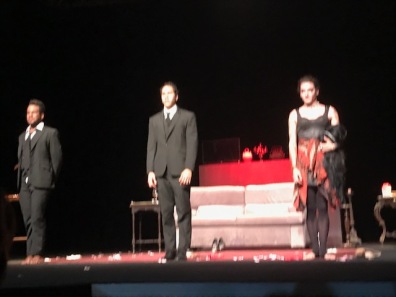 Obra de estreno en el Teatro Trianón